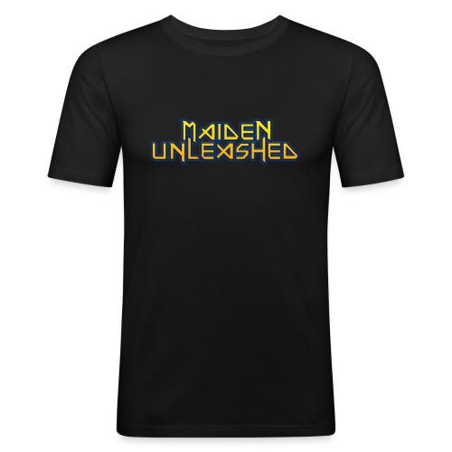 Maiden Unleashed - Männer Slim Fit T-Shirt