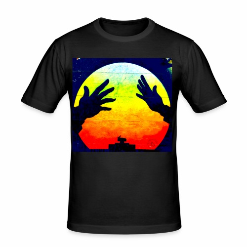 Nuclear Hands - Men's Slim Fit T-Shirt