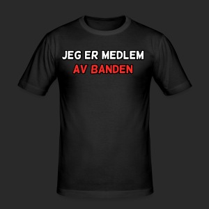Medlem - Slim Fit T-skjorte for menn