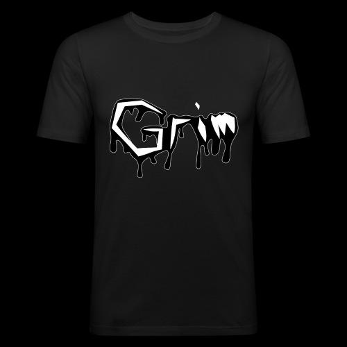 Grim Slime - Männer Slim Fit T-Shirt