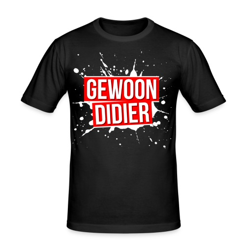 GewoonDidierMerch - Men's Slim Fit T-Shirt
