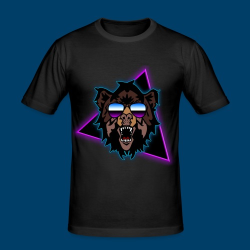 Grizzly 80's - Men's Slim Fit T-Shirt