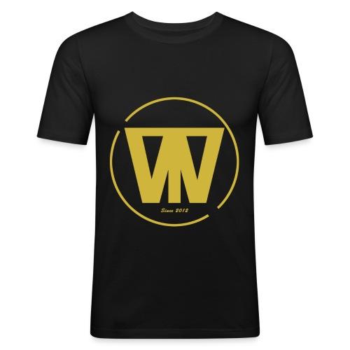 W/T Logo Tee - Guld - Herre Slim Fit T-Shirt