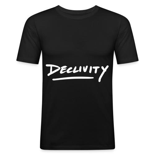 Projekt 2 vit - Slim Fit T-shirt herr