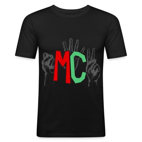 Logo vuoto iMorracinese - Maglietta aderente da uomo