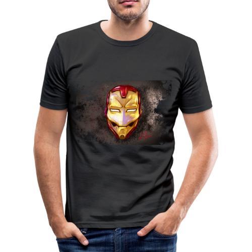 IronSketch - Maglietta aderente da uomo