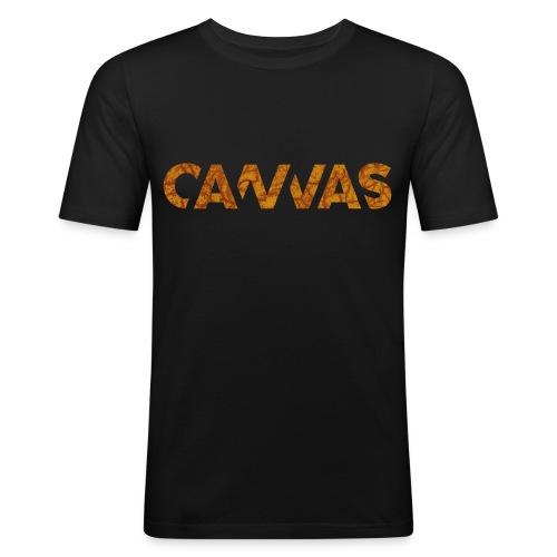 CANVAS Logo, Spring Edition, Limited Edition - Männer Slim Fit T-Shirt