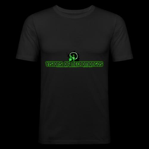 Necromongo Logo ONE - Männer Slim Fit T-Shirt