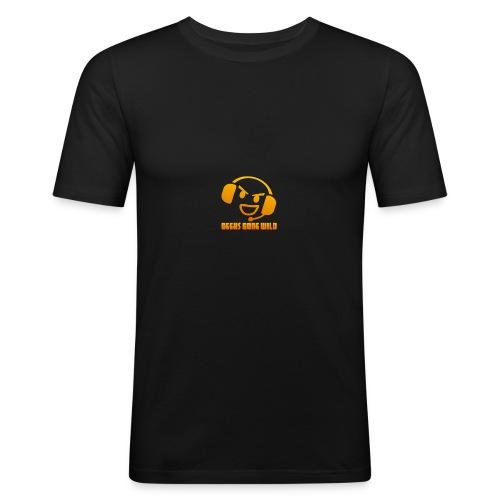 ggw kvadrat 400 - Herre Slim Fit T-Shirt