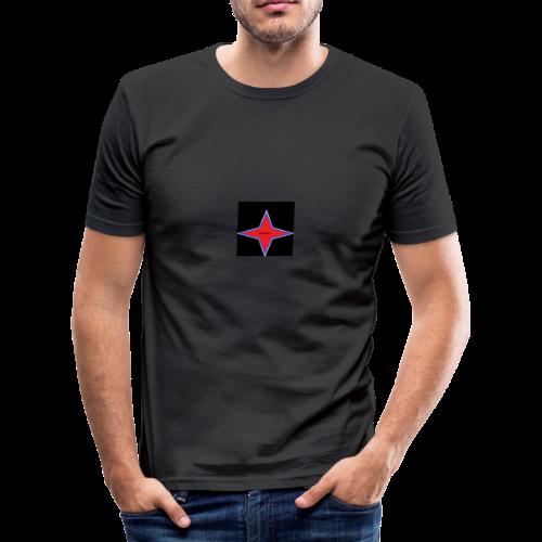 Infinite Lys - T-shirt près du corps Homme