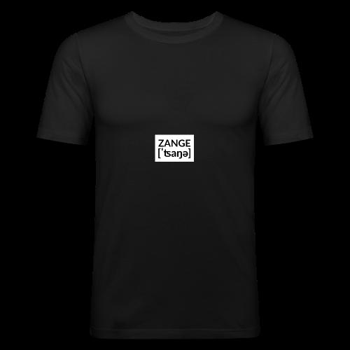 Kleine Zange Untenrum - Männer Slim Fit T-Shirt