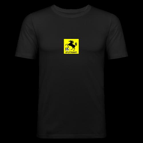 Offizielles LC Stuttgart Vereinslogo - Männer Slim Fit T-Shirt
