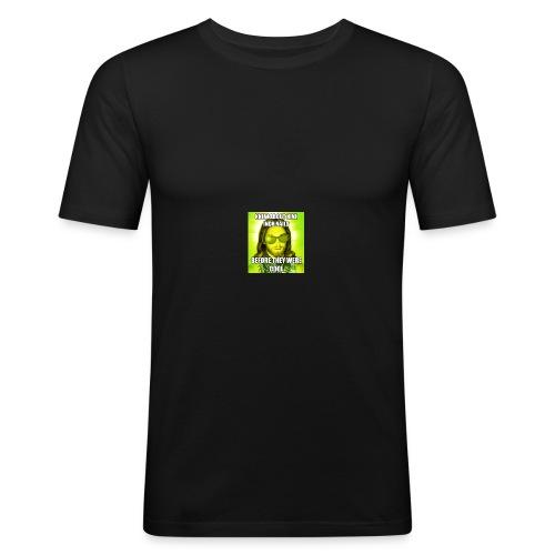 jesusmemesinterneteaste - slim fit T-shirt