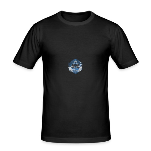 T-SHIRT PSYCO SCIMMIA - Maglietta aderente da uomo