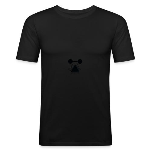 Gymloveextreme logo - Herre Slim Fit T-Shirt