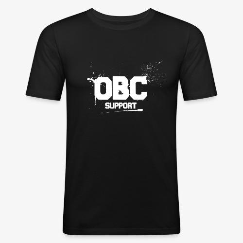 OBCSPP Weiss - Männer Slim Fit T-Shirt