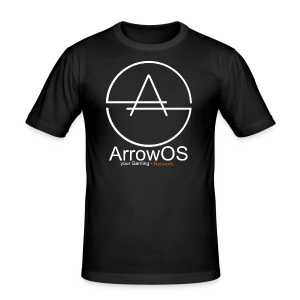 ArrowOS - Männer Slim Fit T-Shirt