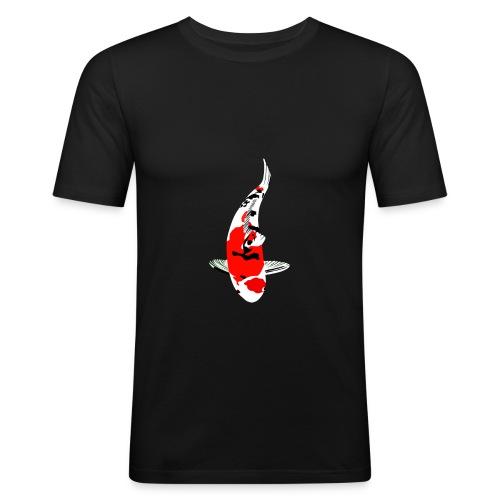 Sanke V - Männer Slim Fit T-Shirt