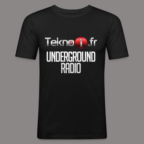 logo tekno1 2000x2000 - T-shirt près du corps Homme