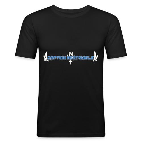Captain Meatshield Logo - Men's Slim Fit T-Shirt