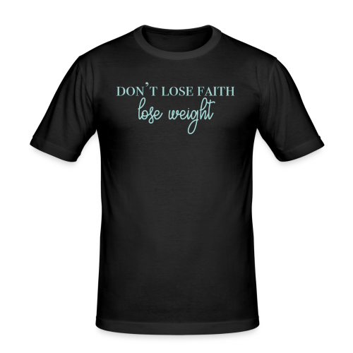 dontlosefaith Collection - Slim Fit T-skjorte for menn