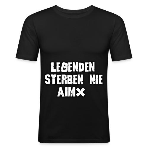 Legenden sterben nie - Männer Slim Fit T-Shirt