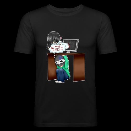 HolyPeril - Helm Insider von OUTLAST 2! - Männer Slim Fit T-Shirt