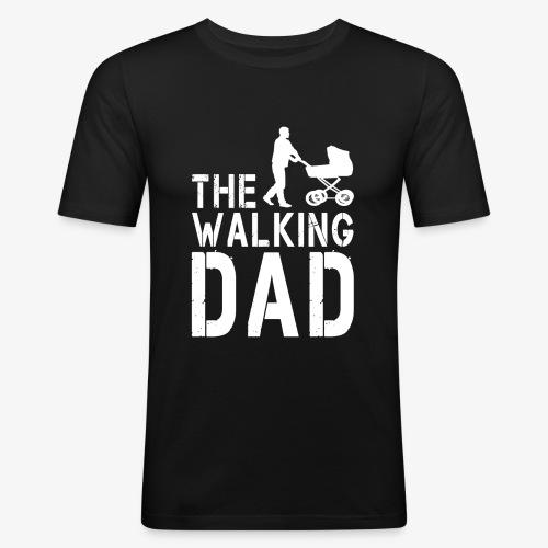 The Walking Dad V2 - Männer Slim Fit T-Shirt