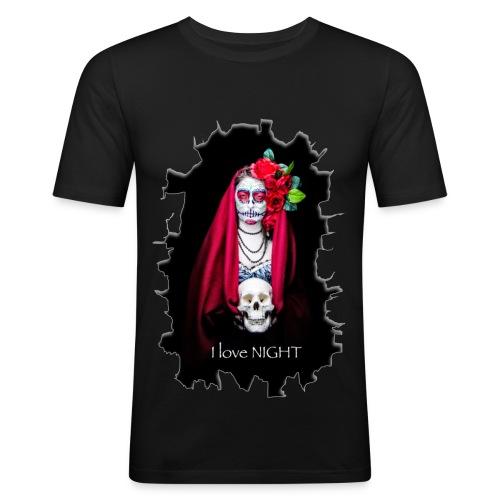Catrina I Love Night - Rotura - Camiseta ajustada hombre