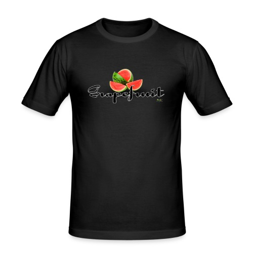 Gemengd Fruit - Grapefruit - slim fit T-shirt