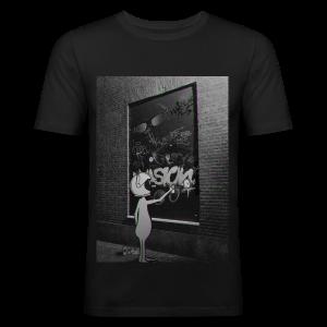 Illegal alien - Men's Slim Fit T-Shirt