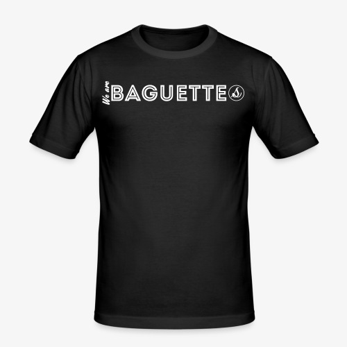 We Are Baguette Straight By Catwo - T-shirt près du corps Homme