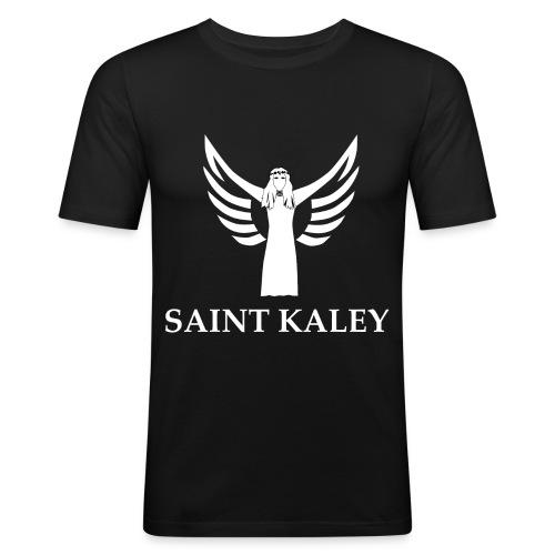 Saint Kaley - Männer Slim Fit T-Shirt