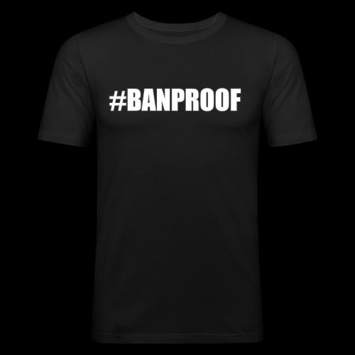 Hashtag - Men's Slim Fit T-Shirt