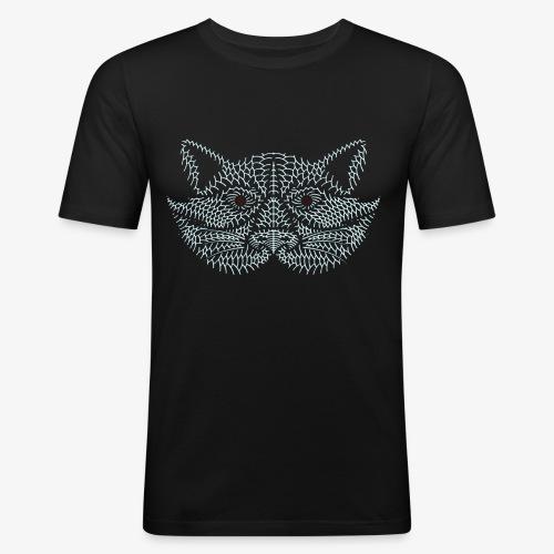 COON LOGO - Männer Slim Fit T-Shirt
