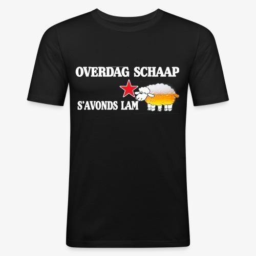 Overdag Schaap S'avonds Lam! - slim fit T-shirt