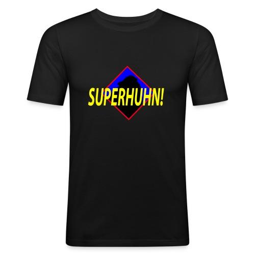 SuperHuhn :) - Männer Slim Fit T-Shirt
