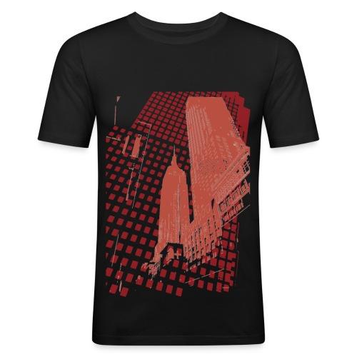Digital Landscape - Camiseta ajustada hombre