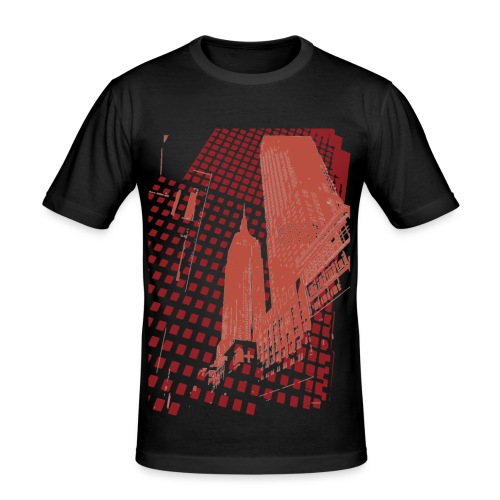 Digital Landscape - Men's Slim Fit T-Shirt