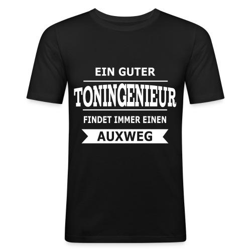 Es gibt immer einen Auxweg - Super Geschenk - Männer Slim Fit T-Shirt