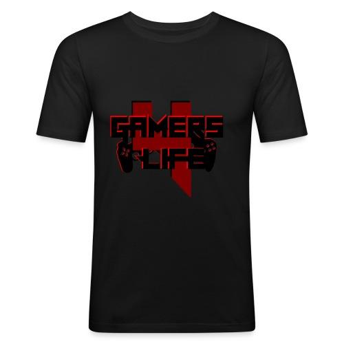 Gamers 4 Life - Männer Slim Fit T-Shirt