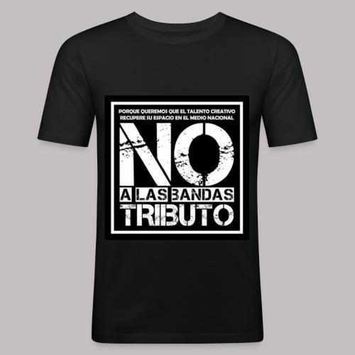 No a las bandas tributo - Camiseta ajustada hombre