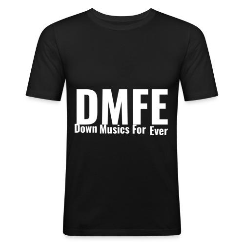 DMFE LOGO - Männer Slim Fit T-Shirt