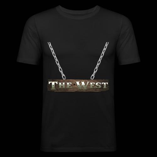 CoBF The west - Männer Slim Fit T-Shirt