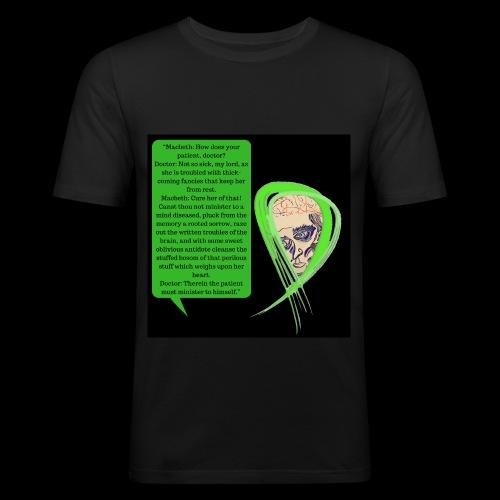 Macbeth Mental health awareness - Men's Slim Fit T-Shirt