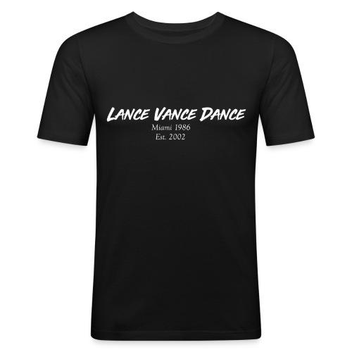 Lance Vance Dance (white) - Männer Slim Fit T-Shirt