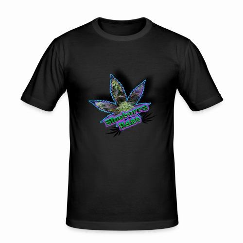 Blueberry Haze - Men's Slim Fit T-Shirt