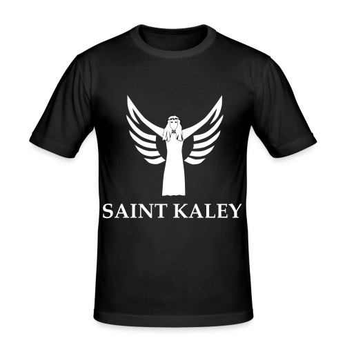 Saint Kaley - Männer Slim Fit T-Shirt