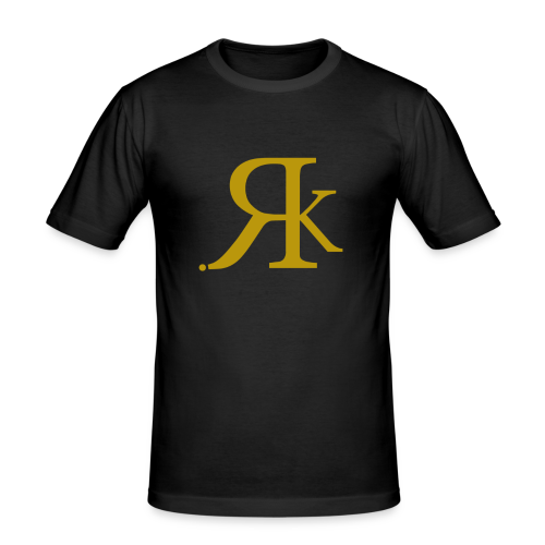 ReKreation. Gold - Männer Slim Fit T-Shirt