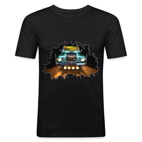 Camión clásico - Classic Truck - Camiseta ajustada hombre